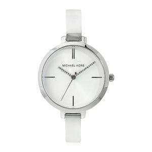 Silver Womens Aryn Stainless-steel  Watch Mk3733